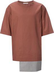 футболка с контрастным подолом Lucio Vanotti