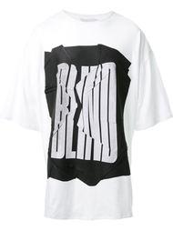 футболка с принтом 'Blind' Strateas Carlucci