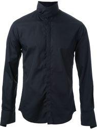 рубашка с воротником с запахом  Strateas Carlucci