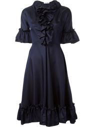 платье с оборками  J.W. Anderson