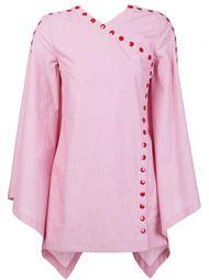 рубашка со смещенной застежкой Rosie Assoulin