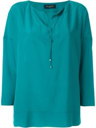 блузка с контрастной окантовкой Piazza Sempione