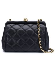 мини сумка через плечо  'Kiss Lock' Chanel Vintage