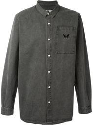 рубашка с вышитым логотипом Pam Perks And Mini