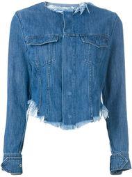 джинсовая куртка с необработанными краями Marques'almeida