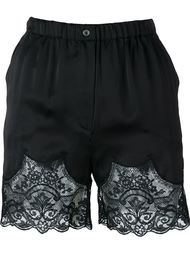 satin lace shorts Faith Connexion