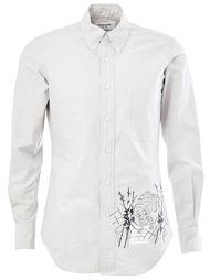 рубашка с вышивкой тигра Thom Browne