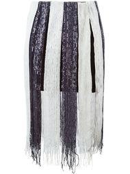 юбка с пайетками  Aviù