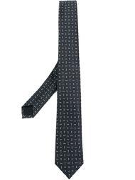 галстук с узором  Z Zegna