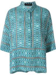 блузка с геометрическим принтом Piazza Sempione