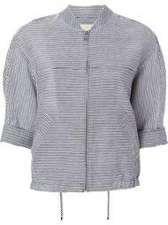 striped 'Jiu' jacket Christian Wijnants