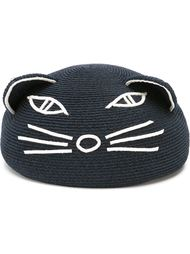 'Caterina' cat face beret Eugenia Kim