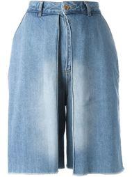 широкие джинсовые шорты Aalto