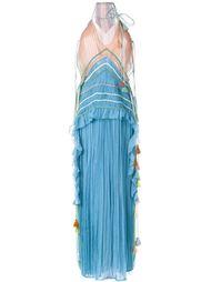 плиссированное вечернее платье Chloé