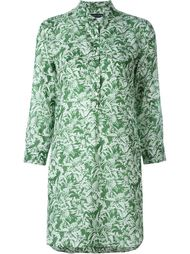 удлиненная рубашка с принтом ананасов Jacob Cohen