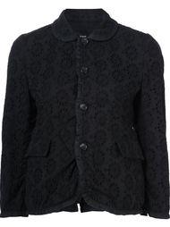broderie anglaise jacket Comme Des Garçons Tricot