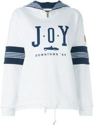 толстовка с принтом-логотипом Joyrich