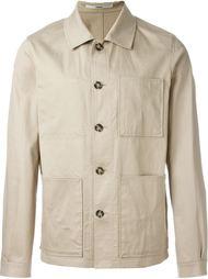 куртка-рубашка с накладными карманами Kenzo