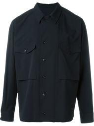 рубашка с нагрудными карманами Lemaire
