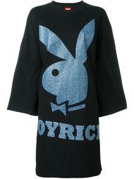 платье-футболка с принтом 'Playboy Bunny' Joyrich