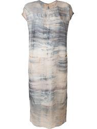 выбеленное платье  Raquel Allegra
