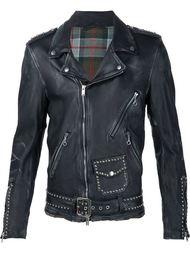 байкерская куртка с заклепками Undercover