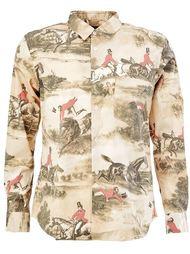 рубашка с принтом Comme Des Garçons Homme Plus