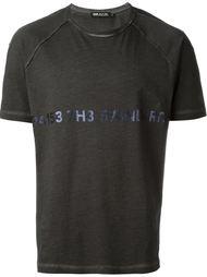 футболка с принтом-логотипом Haus