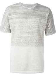 футболка дизайна колор-блок Helmut Lang