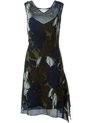 платье с цветочным принтом  Paul By Paul Smith