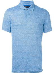 меланжевая футболка-поло  Michael Kors