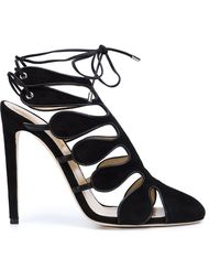 strappy pumps Chloe Gosselin