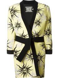пальто с принтом символов солнца Fausto Puglisi
