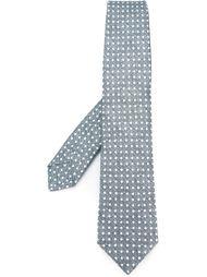 diamond print tie Kiton