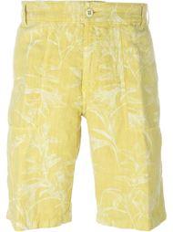 шорты с цветочным принтом  Etro