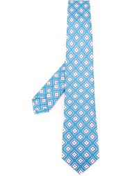 geometric pattern tie Kiton