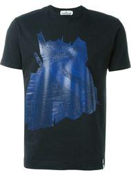 футболка с абстрактным принтом Stone Island