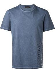 футболка с полосатой отделкой Haus