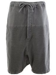 шорты с заниженной шаговой линией   Wooster + Lardini
