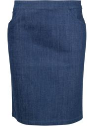 короткая юбка прямого кроя A.P.C.