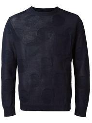 свитер с узором  Blue Blue Japan