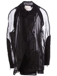 прозрачное пальто A.F.Vandevorst