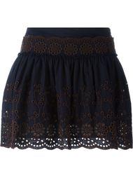 юбка с открытой вышивкой See By Chloé