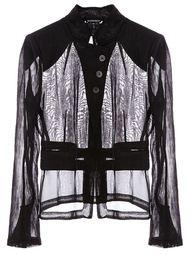 прозрачная рубашка  Ann Demeulemeester