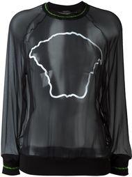 свитер с логотипом  Versace