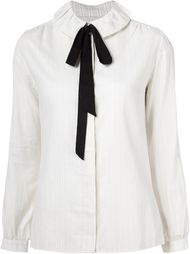 рубашка с завязками на бант A.P.C.