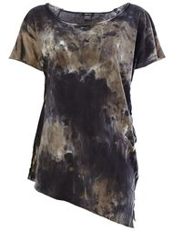 футболка с мраморным принтом  Avant Toi