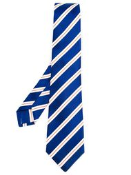 diagonal stripes tie Kiton