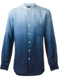 рубашка с эффектом градиент  Blue Blue Japan