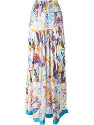 юбка с цветочным принтом   Tsumori Chisato